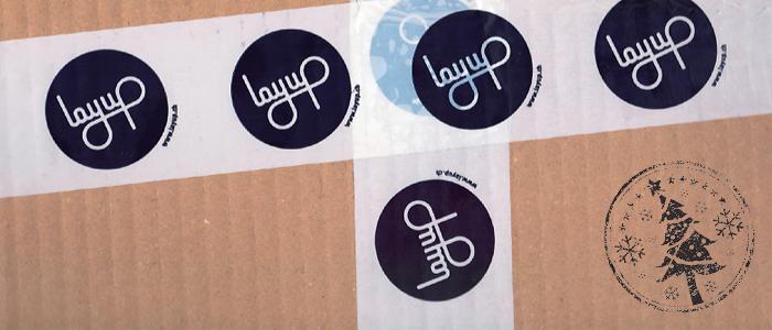 Layup Online Shop Pakete Lieferung Weihnacht